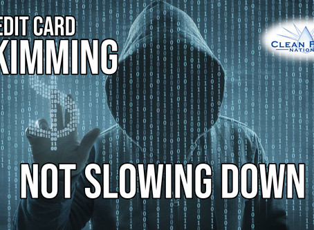 Credit Card Skimming Not Slowing Down
