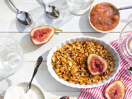 Fresh Fig Breakfast Bowls