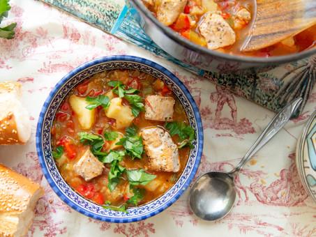Marmitako (Basque Tuna Stew)
