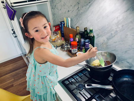 How to Cook With Kids Without Stress
