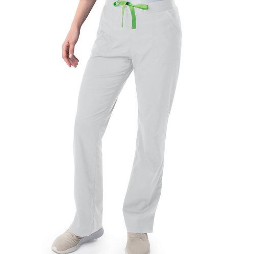 Women's Modern 1/2 & 1/2 Straight Leg Pant - White