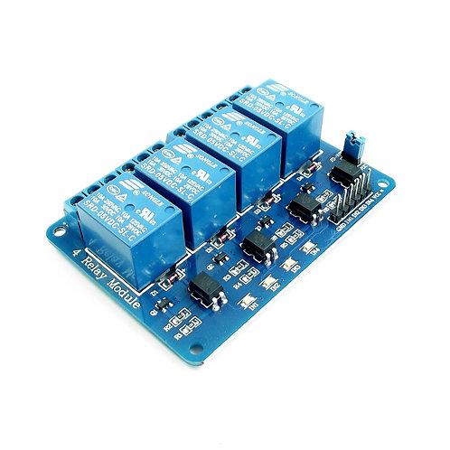 4-Channels Relay Module 5DC