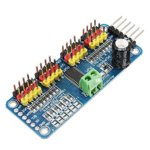 PCA9685 16-Channel 12-bit PWM Servo Motor Driver I2C Module