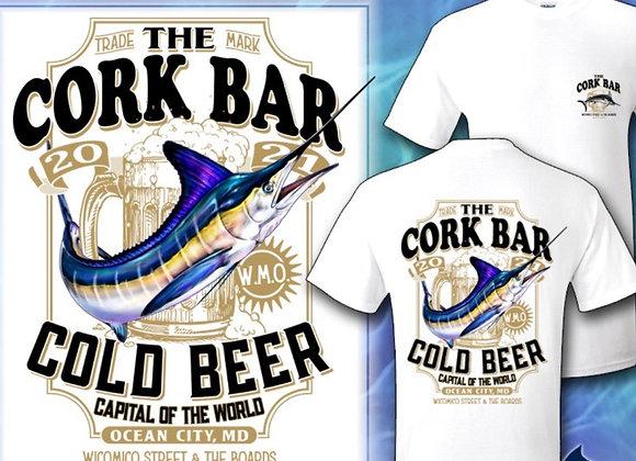 Cork Bar Long Sleeve Soft Sportex  Marlin Shirt