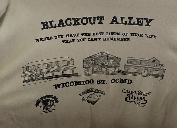Green Blackout Alley T's