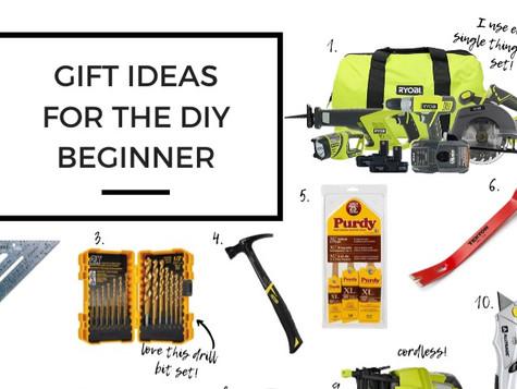 The DIY Beginner's Gift Guide -2019