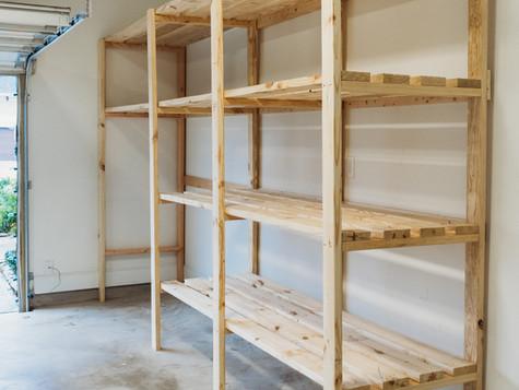 Garage Shelving - Organize Your Garage Before Spring!
