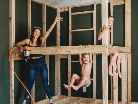 Framing the Bunk room