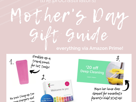 Mothers Day Gift Guide 2019 - Amazon Edition