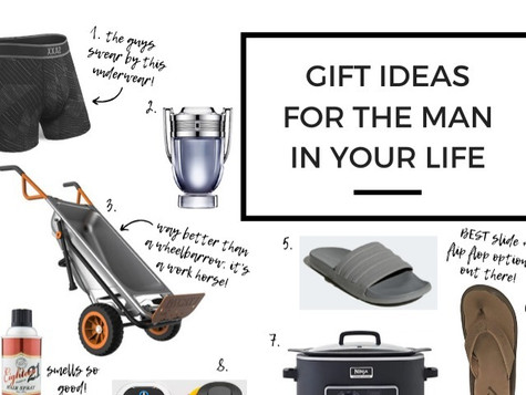 Men's Holiday Gift Guide - 2019