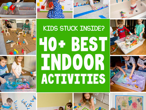 Ideas to Keep Your Kids (of all ages!) Busy While Stuck at Home