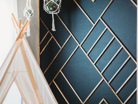 DIY Boho Wood Wall