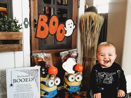 Booed! Halloween Game + Free Printable