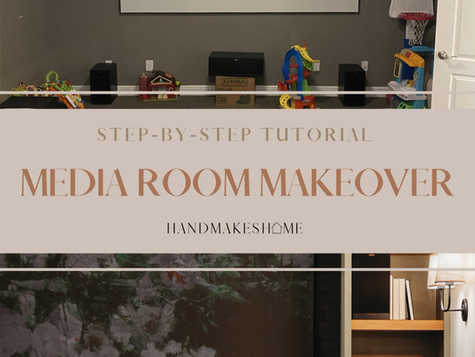 Media Room makeover