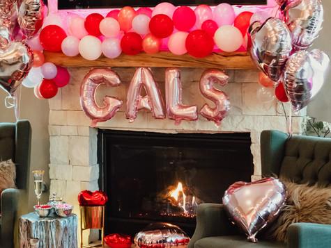 Galentines Girls Night In