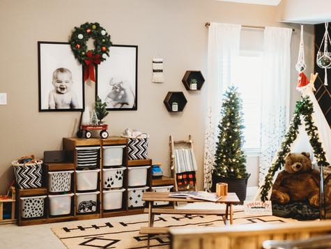The Boys' Christmas Playroom