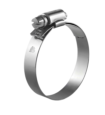 Stainless Steel Worm Drive Clamp (Lined)