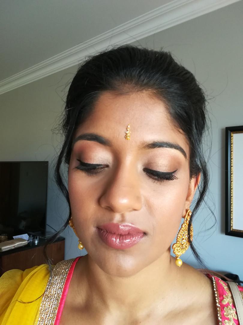 Indian wedding make up, Destination Wedding