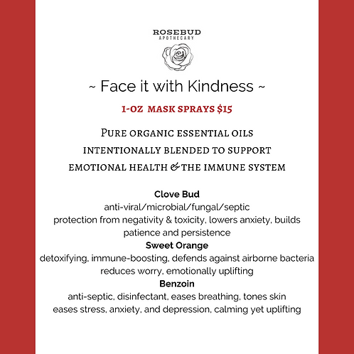 Face it with Kindness (spicy)