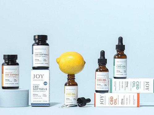 Joy Organics CBD Products (follow link in description)