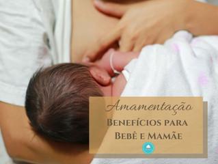 Amamentação - Bebê e Mamãe ganham