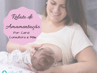NOSSA LUA DE LEITE - Por Carol (Consultora em Amamentação e Mãe)