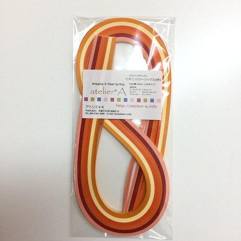 3mm幅 ビタミンカラーミックス(60cm×150本)