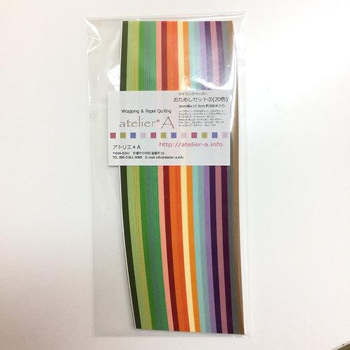 3mm幅 おためしパック②(17.5cm×500本)