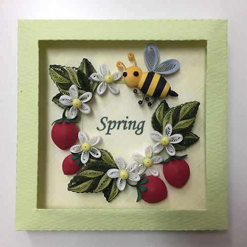 いちごの春リース
