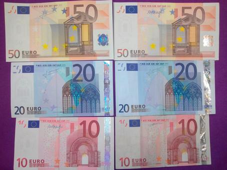 Juan Pedro es 'la máquina'... de los billetes falsos