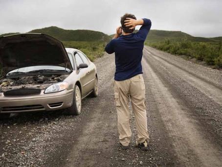 Las averías más comunes producidas por despistes del conductor