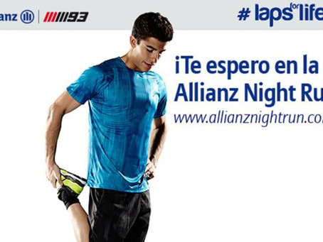 ¿Te gustaría correr en Montmeló? Súmate al Allianz Night Run, la carrera benéfica de Allianz y Marc