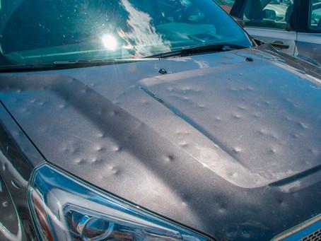 ¿Quién paga la granizada de mi coche?