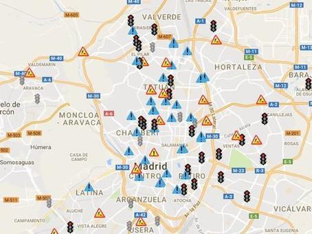 Madrid estrena nueve semáforos 'foto-rojo' que empezarán a multar hoy
