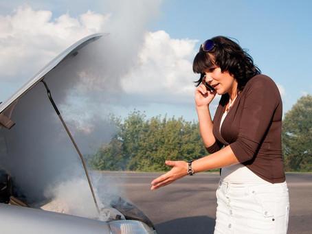 """""""Si se quema mi coche, ¿qué hago?"""""""