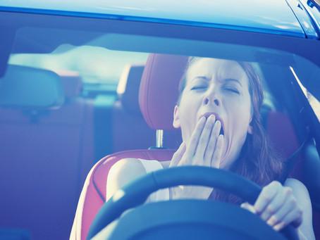 """""""Somnolencia al volante, peligro constante"""""""