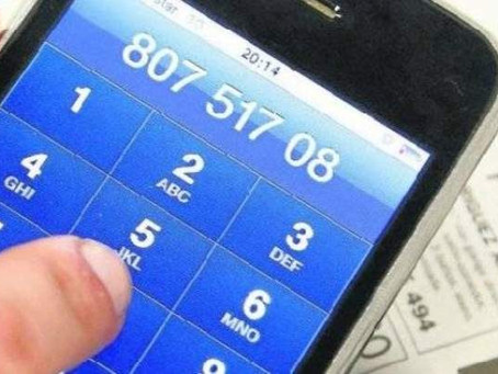 Si marcas estos números de telefóno, prepara tu cartera