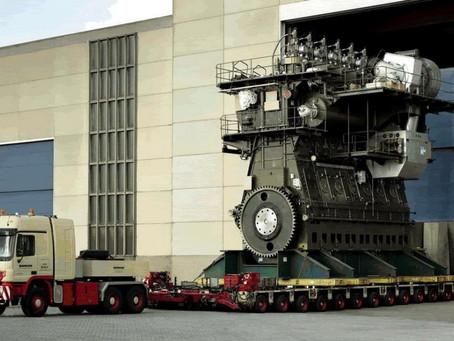 Así es el motor diésel más potente del mundo