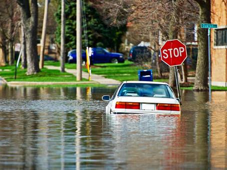 """""""La inundación hace en otoño su devastadora aparición"""""""