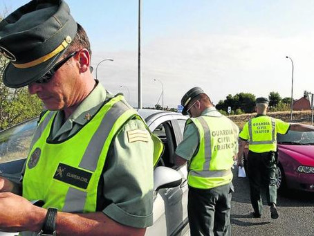 Las 5 multas de tráfico que podrían ponerte este verano