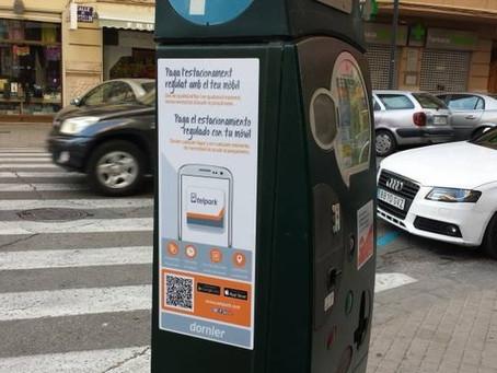 3.129 usuarios han utilizado la aplicación Telpark para pagar el estacionamiento regulado en Guadala