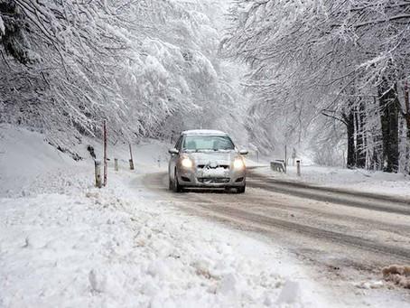 Invierno al volante, precaución constante