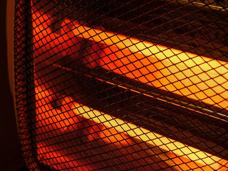 ¡Precaución! En invierno, riesgo de incendio