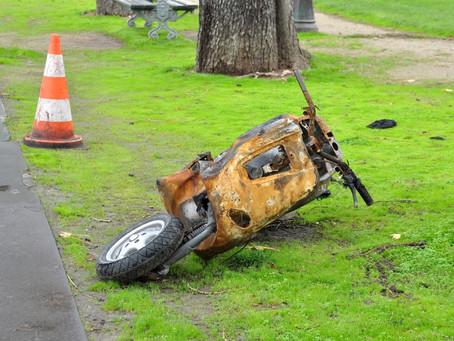 Mi scooter tiene siniestro total, ¿cuánto es la indemnización?