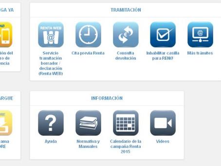 Nuevo sistema para presentar el IRPF por internet