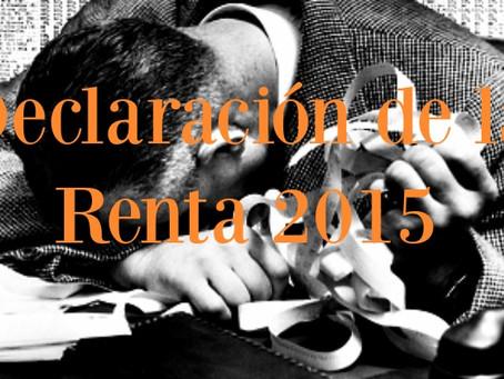 Renta 2015: ¿Quién no tiene la obligación de hacer la declaración este 2016?