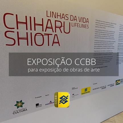 Linhas da Vida, Chihatu Shiota - CCBB