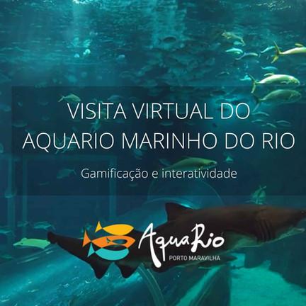 Visita Virtual Aquario Marinho do Rio