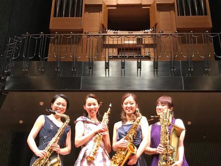 福島復興支援コンサート〜Saxophone Quartet 美と夢を楽しむ世界〜
