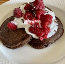 Sparkly Chocolate Pancakes